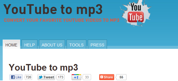 youtube to mp3 online tool
