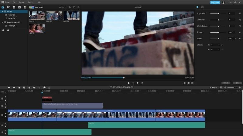 youtube video imyfone filme edit