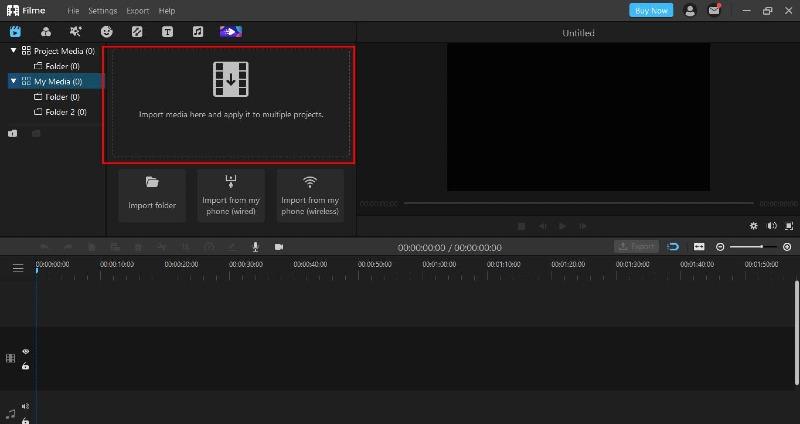 youtube video imyfone filme import
