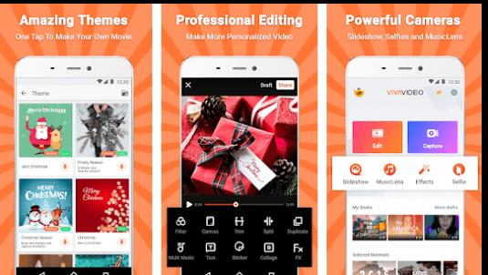 vivavideo app interface
