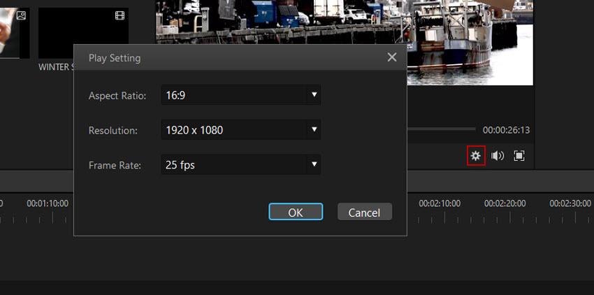 change video play speed in filme