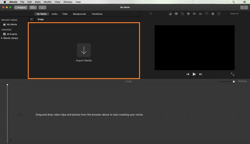 add text to video with imovie 2