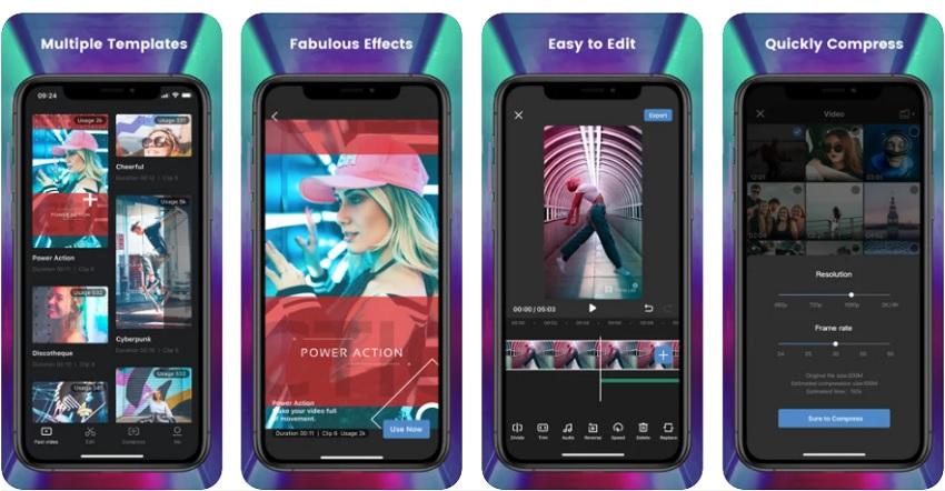 brighten video app filme