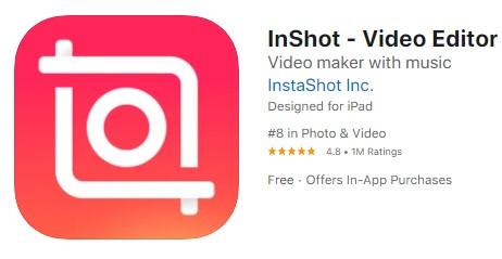 brighten video app inshot
