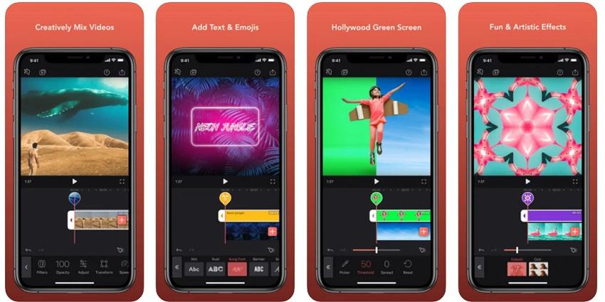 brighten video app videoleap