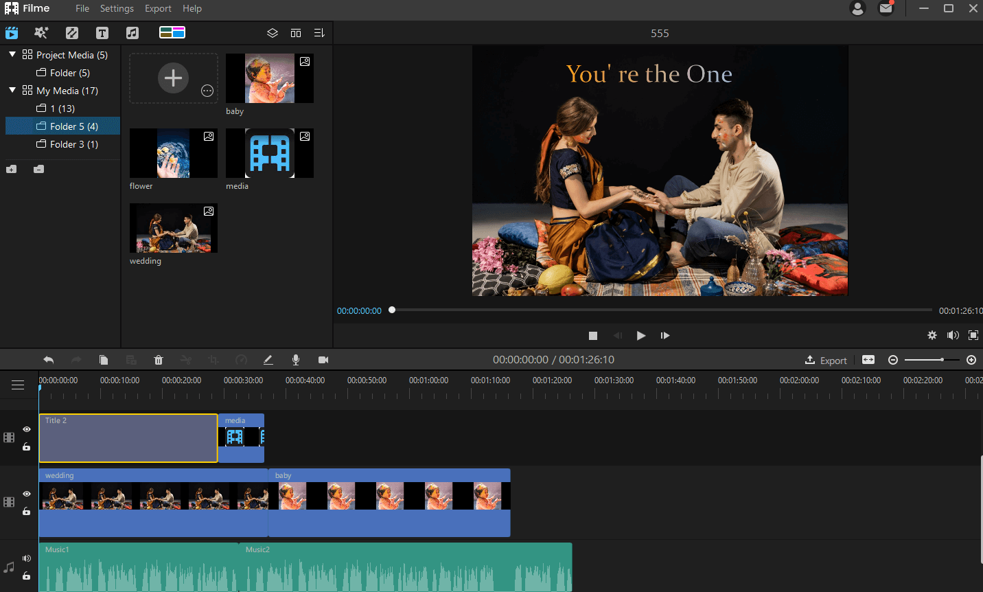combine video in filme 2