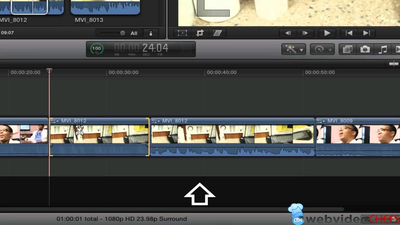 final cut pro x trim video