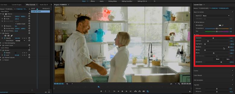 fix overexposed video adobe premiere pro 2