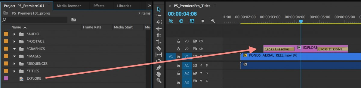 how to add text to a video in adobe premiere pro 14