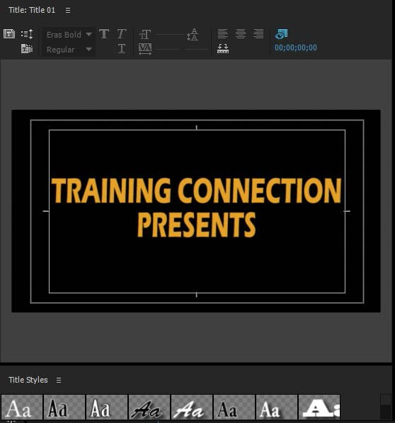 how to add text to a video in adobe premiere pro 17