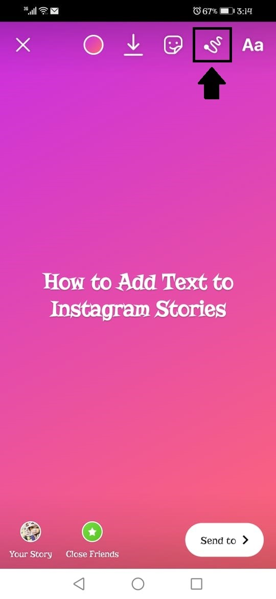 how to add text to instagram video 2