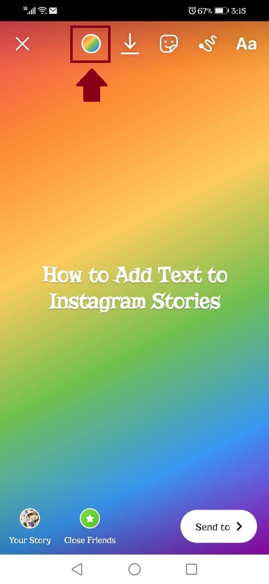 how to add text to instagram video 5