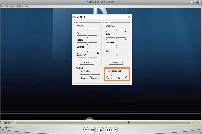 how to speedup videos on Quicktime player