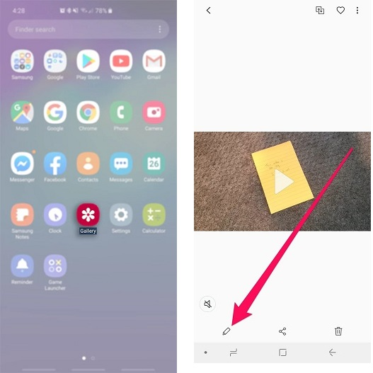 how to trim a video on android 3