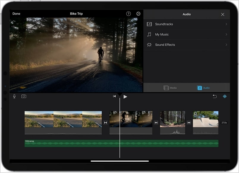 Make a Music Video on iMovie iPad