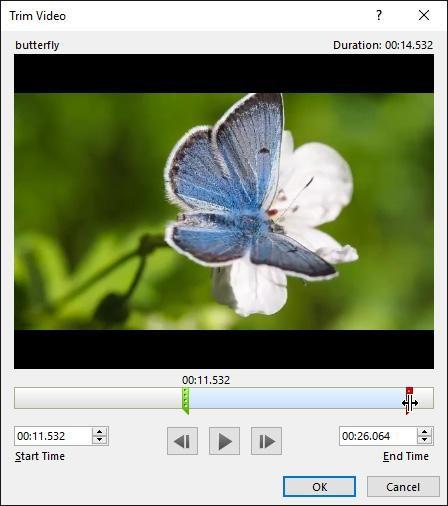 powerpoint2016 trim video