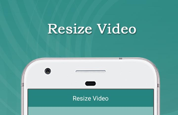 resize video iPhone