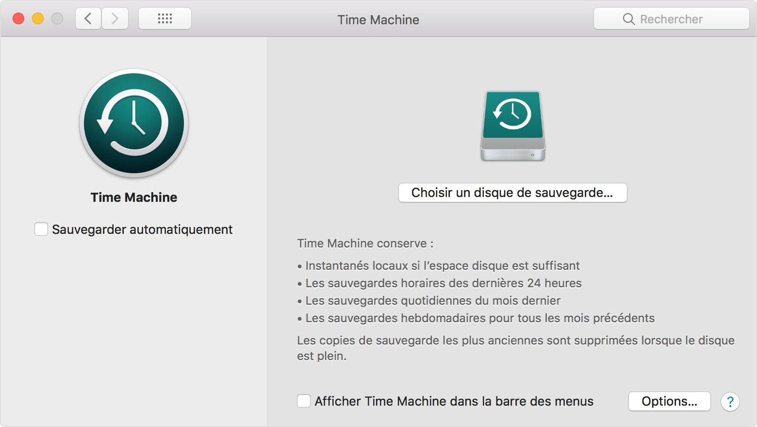 Récupérer un document Word écrasé avec Time Machine
