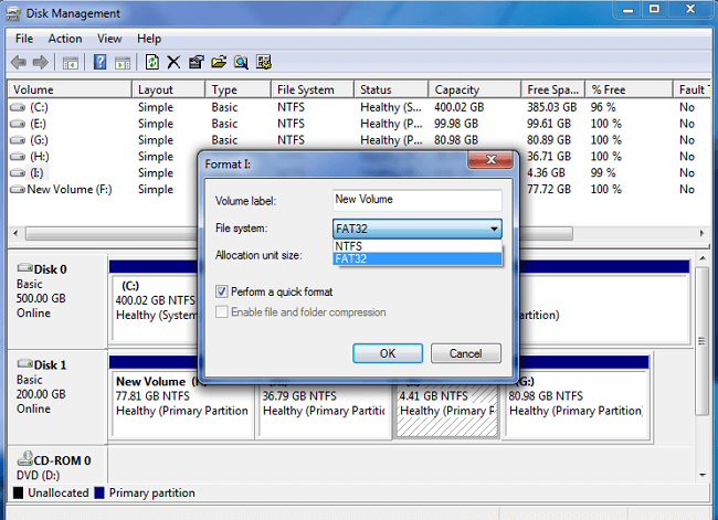 formater USB