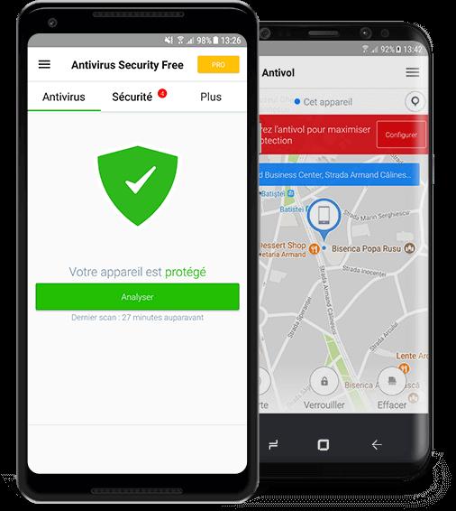 Détection des logiciels de surveillance Android