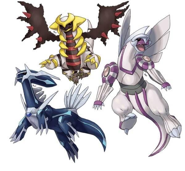 attraper les Pokémon légendaires dans Platine