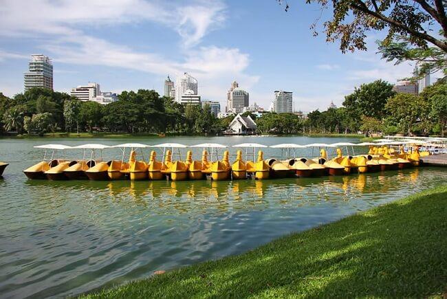 Parc Lumpini à Bangkok