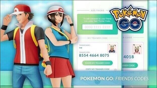 Amis sur Pokémon Go