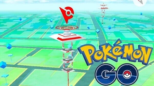 gyms dans Pokémon GO