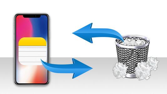 récupérer les notes perdu de l'iPhone