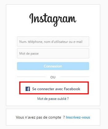 récupérer un compte Instagram sans email ni téléphone