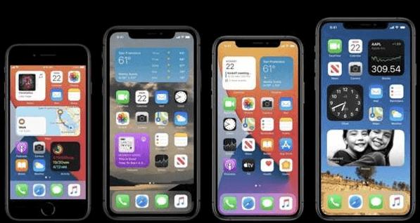 iPhones compatibles avec iOS 15
