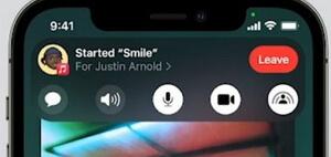 partager la musique avec d'autres personnes sur FaceTime