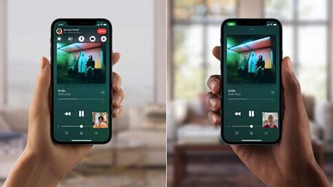 Novedades de FaceTime en iOS 15