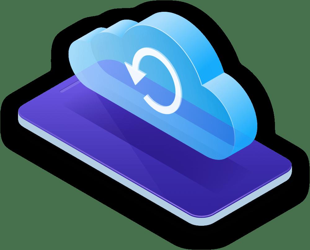 récupération de données icloud imyfone d-back