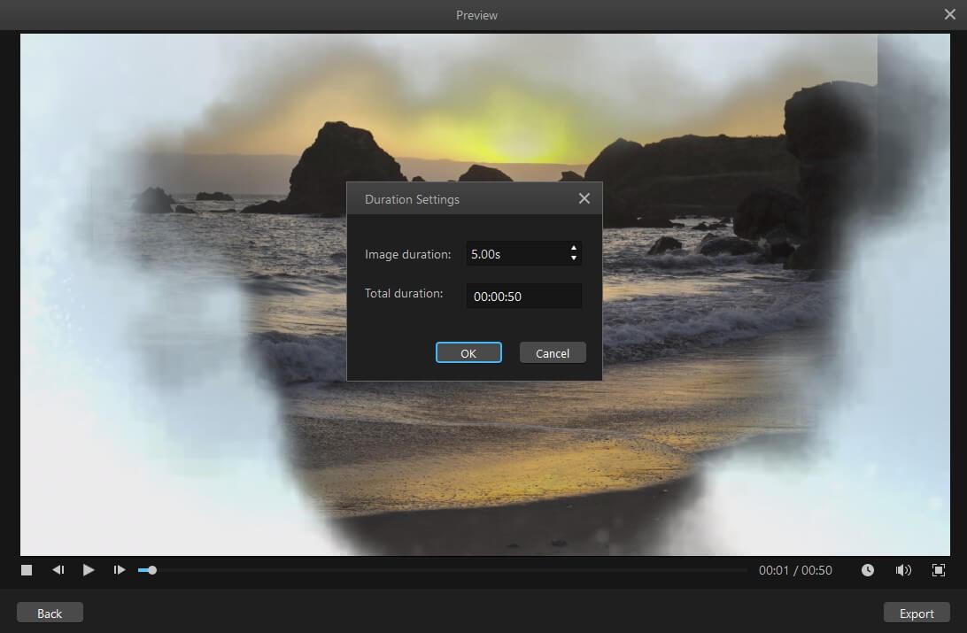 exporter une vidéo rapide dans un fichier