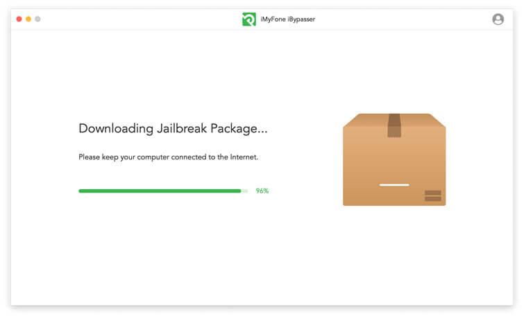 Téléchargement du paquet de jailbreak