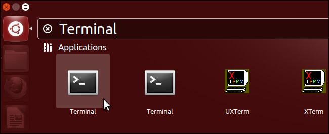 lancer le Terminal