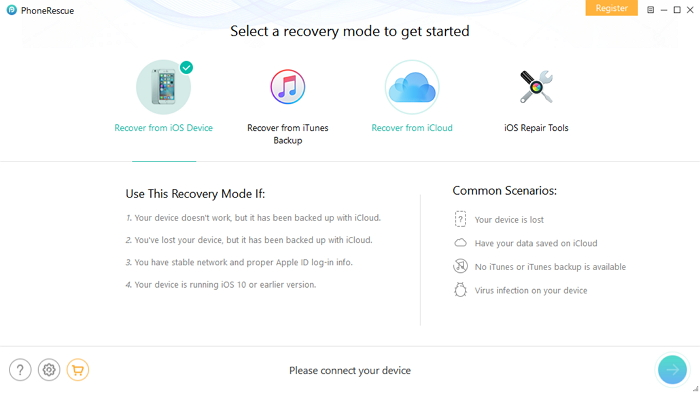 phonerescue data recovery software for iphone