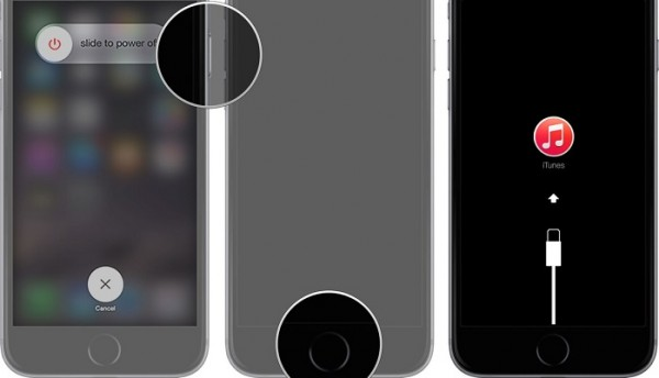 débloquer un iPhone avec le mode de récupération