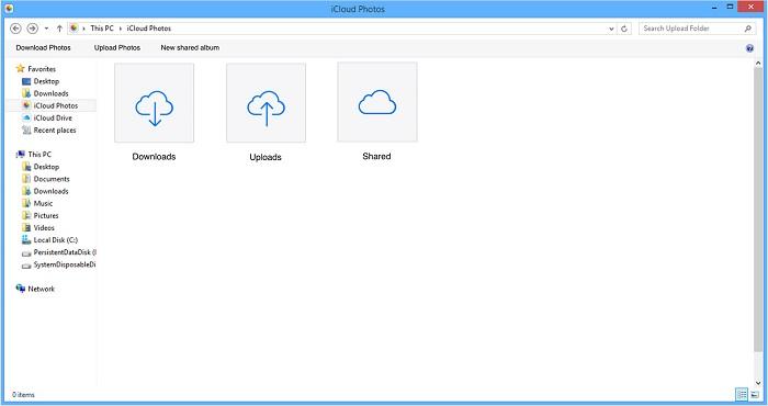 iCloud Control Panel