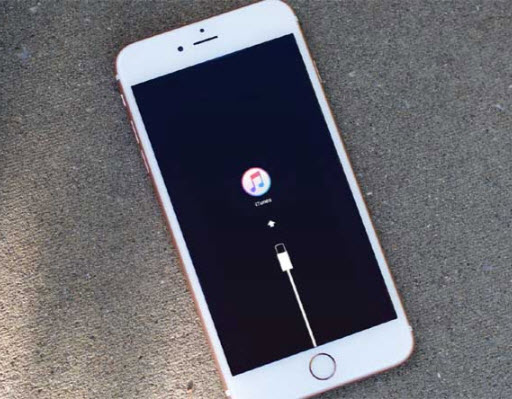 iPhone en mode de récuération