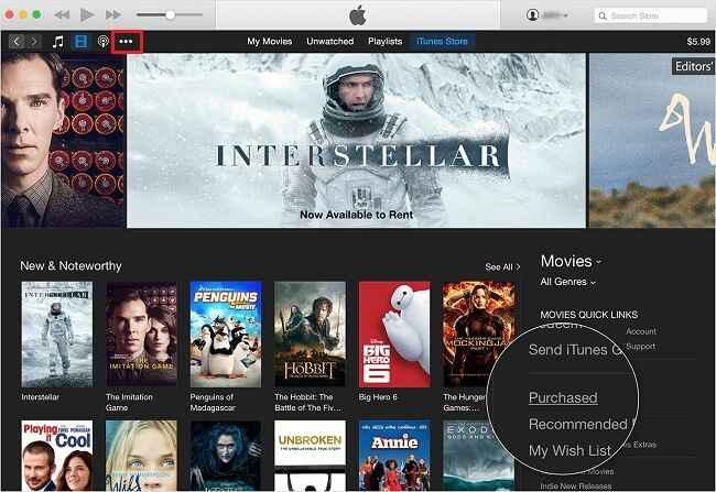Retrieve Deleted Videos that you Purchased from iTunes