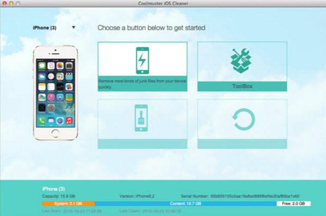 Coolmuster iOS Eraser