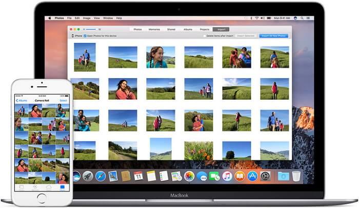 import-iphone-photos-to-mac
