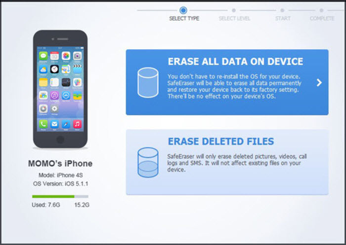 iPhone Data Eraser