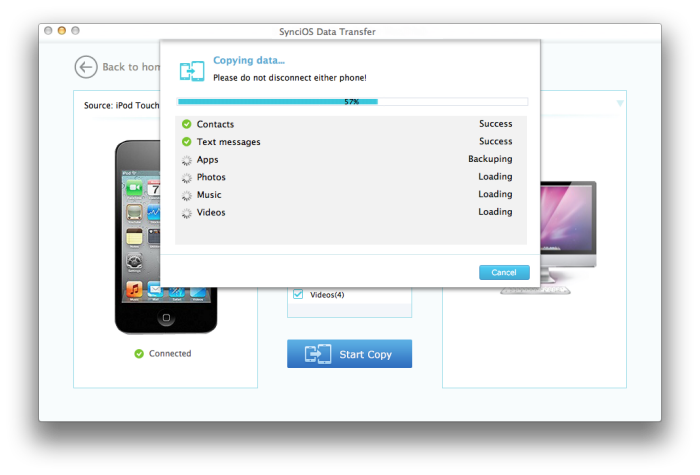 Syncios iPhone Transfer Tool