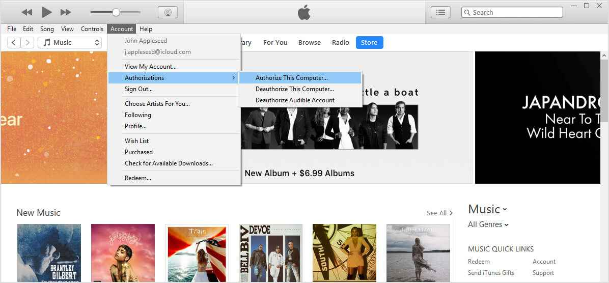 songs won t transfer from itunes to ipod