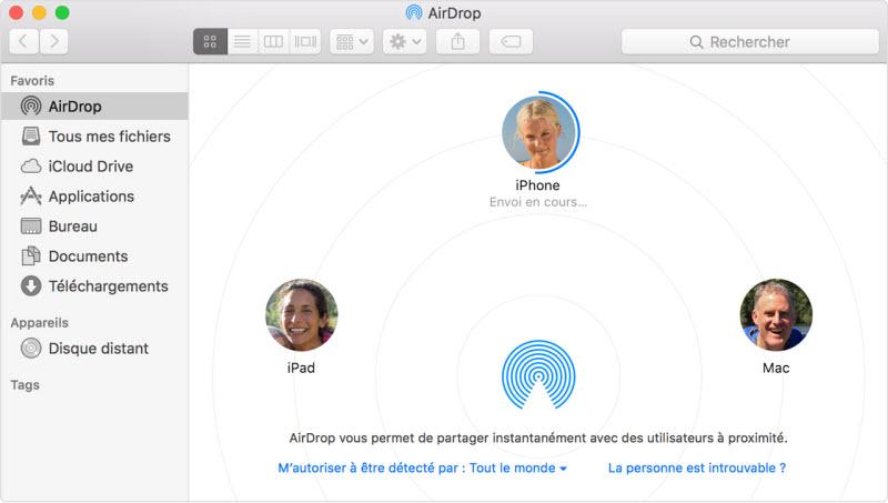Comment Accéder aux Fichiers d'un iPhone sur un Mac