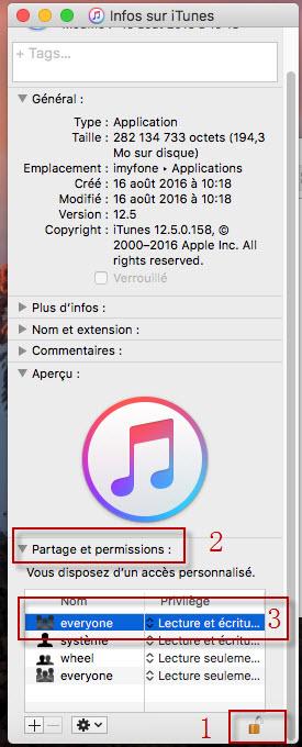 déinstaller itunes et components sur Mac