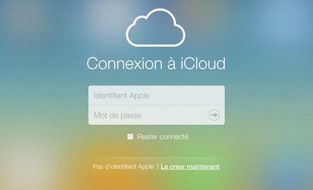 se conneter à iCloud